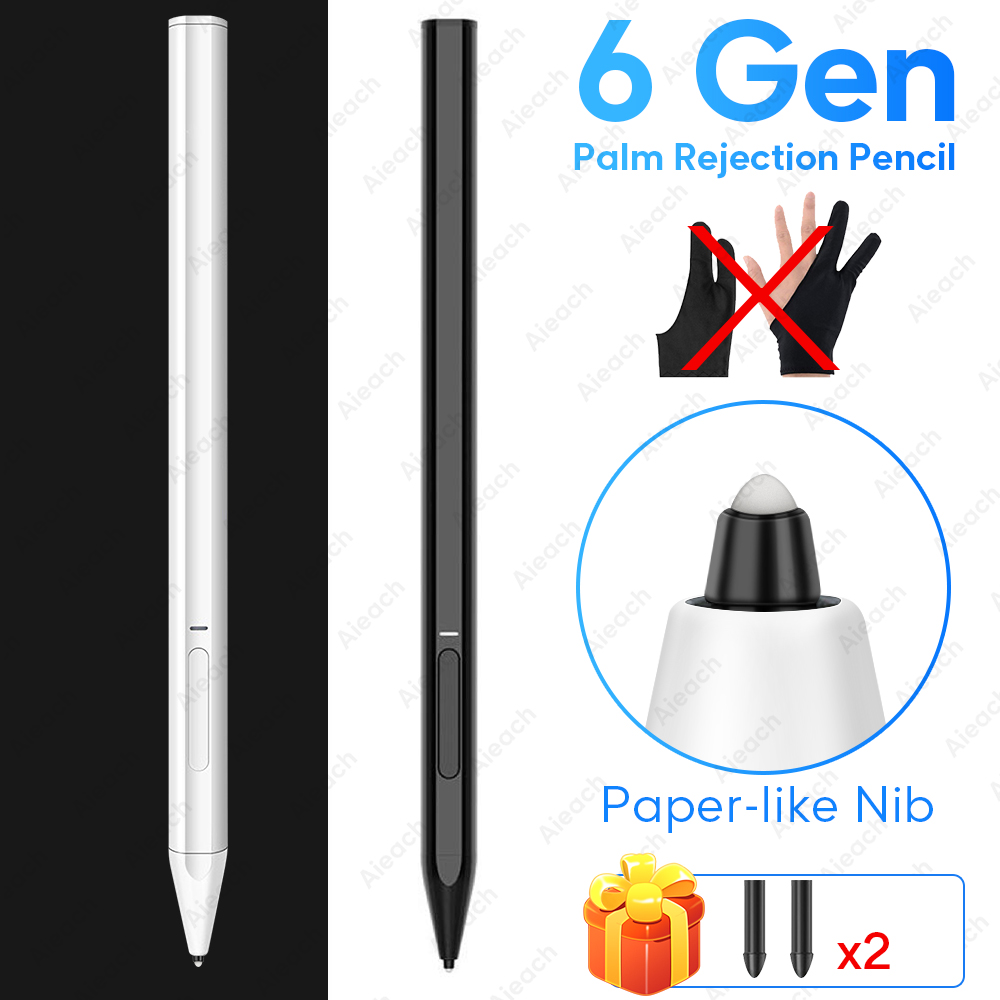 For Ipad Pencil Stylus Pen For Ipad Air 3 /6th Gen 7th /por 11 12.9 2020 3rd Paper-like Nib Palm Rejection Pen For Apple Pencil