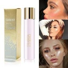 6 цветов Хайлайтер для лица бронзаторы макияж светящийся блеск для лица блеск для контурного макияжа Свободные Тени для век Пудра осветитель хайлайтер косметика
