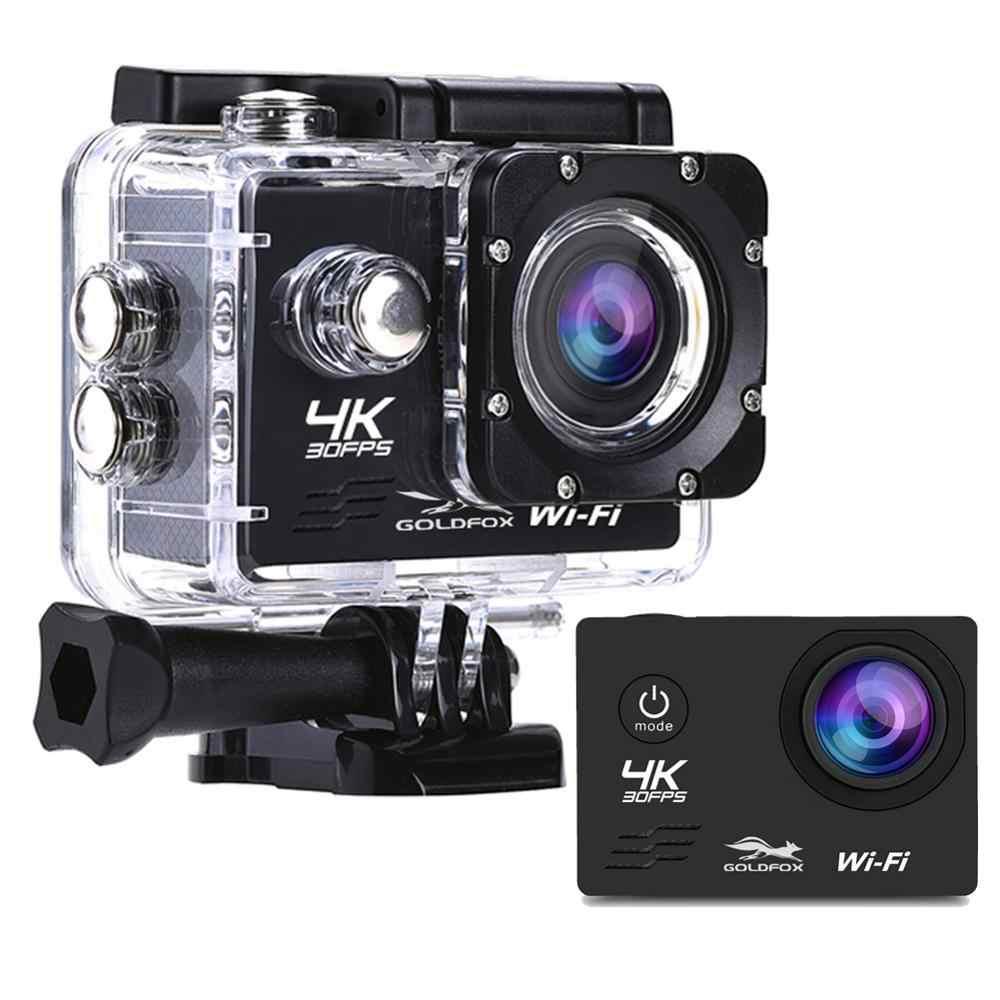 Cámara deportiva de video 4K de vestir TB 30Fps IP65 Videocámara Digital Control Remoto 32//64G Sd