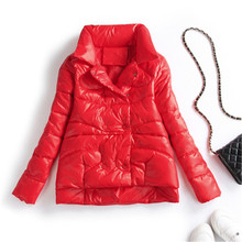 2020 New Winter Women Ultra Light Down Jacket Casual Stand C