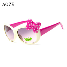 2020 New AOZE Brand Kids glasses Girls Hot fashion sunglasses Retro cute toddler