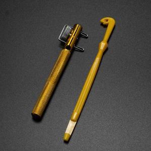 Full Metal Fishing Hook Knotting Tool & Tie Hook Loop Making Device & Hooks Decoupling remover Carp Fishing Accessory Dropship