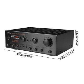 Усилитель мощности SUNBUCK AV-502BT, количество каналов: 7 (6.1), USB, FM 6
