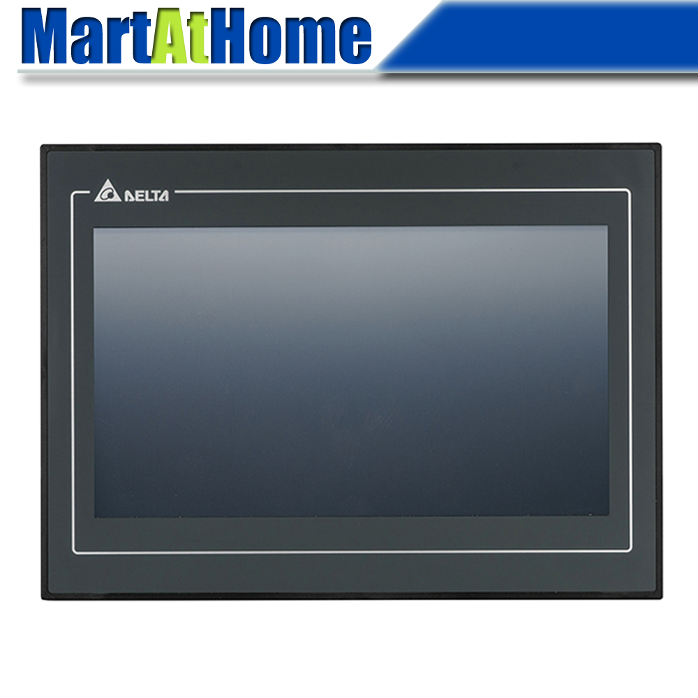 DELTA DOP-110CS Standard 10.1 Inch TFT Touch Panel HMI Human Machine Interface 2 COM Ports 256 MB USB
