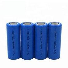 18500 Batterij 3.7V 1600Mah Oplaadbare Batterij 18500 Bateria Recarregavel Lithium Li Ion Batteies Baterias