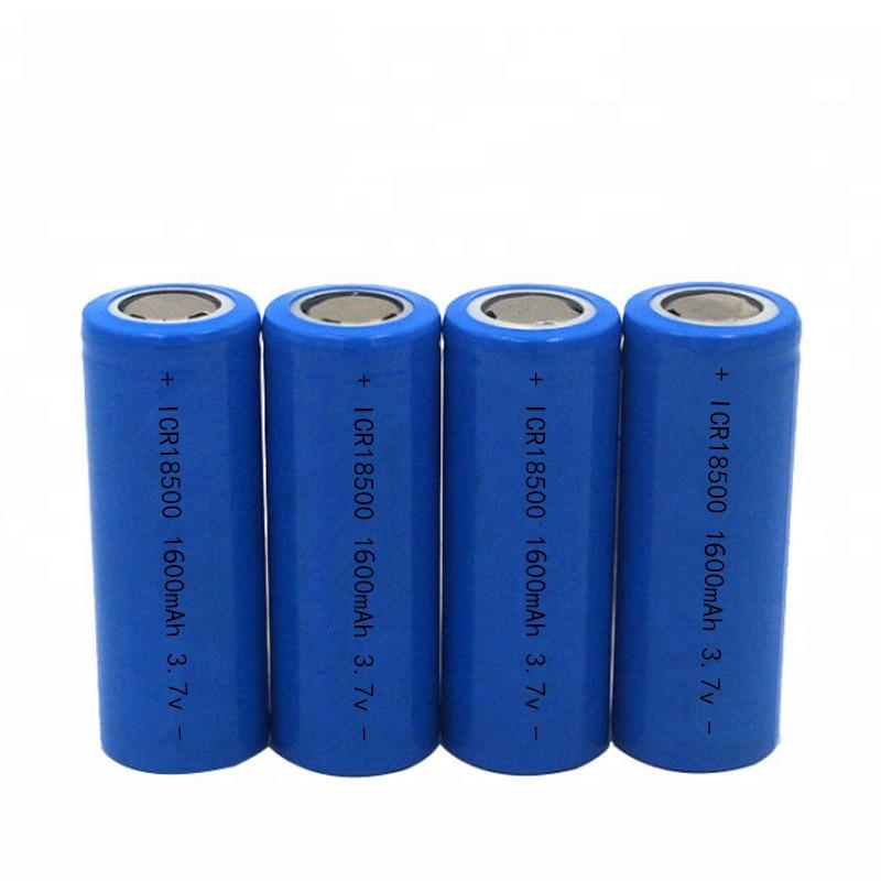 18500 bateria 3.7V 1600mAh Bateria Recarregável 18500 Bateria De Lítio Recarregável li-ion Baterias Batteies
