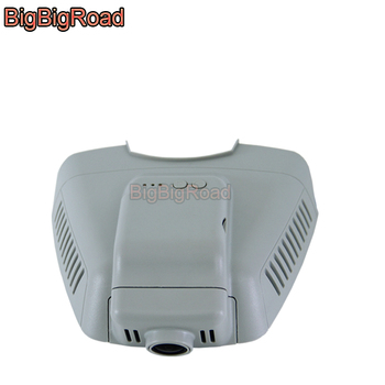 цена на BigBigRoad Wifi Car DVR Dash Cam Camera For Mercedes Benz C series CLS 300 W204 C180 C200 low Version 2010 2011 2012 2013 2014