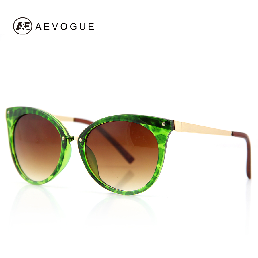 AEVOGUE Cat Eye Brand Design Sunglasses Women Fashion Spectacles Multicolor Optic Sun Glasses Gafas Oculos De Sol UV400 AE0085