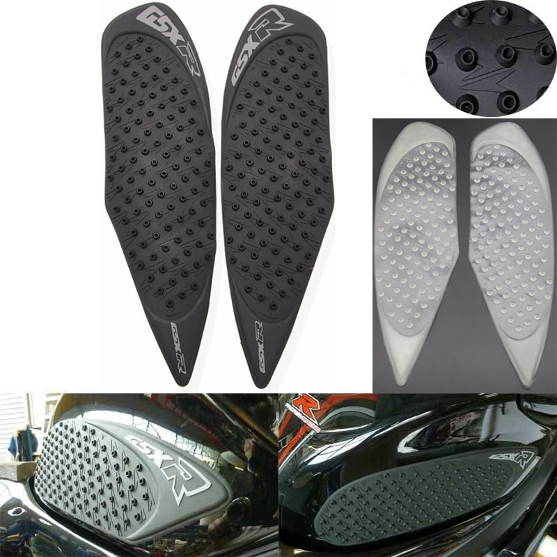 For SUZUKI GSXR600 GSXR750 2008-2010 Motorcycle Tank Pad Gas Anti slip Stickers Traction Fuel Grip Decal Protector