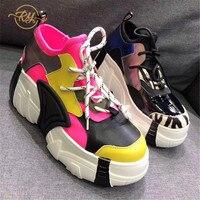 Precio https://ae01.alicdn.com/kf/H82350689765b406aa0b50c6319724eadU/RY RELAA zapatillas de deporte para mujer zapatos de cuña de cuero genuino de moda 2018.jpg