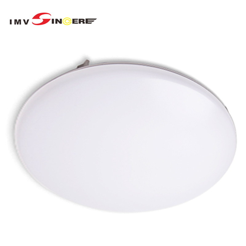 Imvsinsere 24W LED Ceiling Light IP44 Waterproof Warm White 3000K Lighting For Bathroom Bedroom Hallway Kitchen Living Room in Ceiling Lights from Lights Lighting