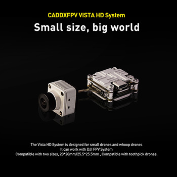 Caddx Vista HD Digital System 5.8GHz FPV Transmitter VTX 150° Cam 1080P Recording AIO For FPV Goggles Toothpick Bwhoop Drone