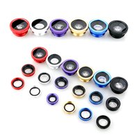 Mobile phone lens fisheye wide angle macro three in one mobile phone external special effects lens mobile phone universal lens|Mobile Phone Lens| |  -