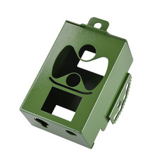Lock Durable Practical Sports Camera Protective Box Security Metal Case Outdoor Photo Accessories Hunting Iron Trap For HC300(China)