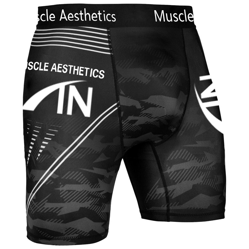 Men's Shorts Gyms Fitness Bodybuilding Joggers Workout Run Cycling Shorts High-elastic Skinny Compression Quick Drying Leggings