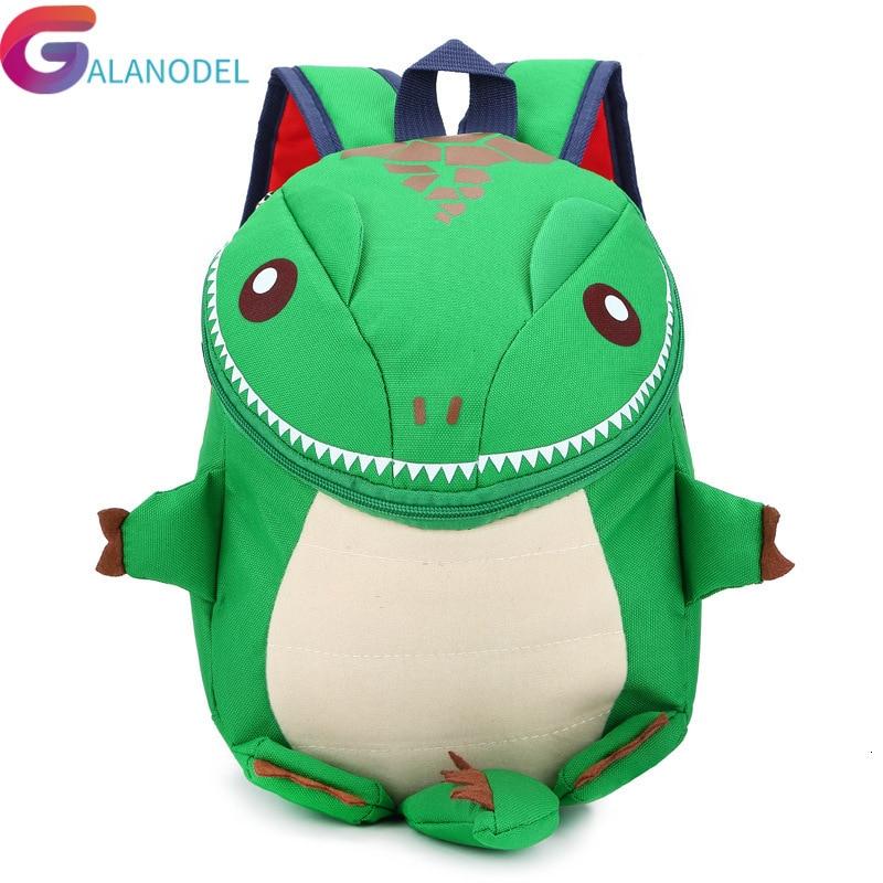 3D Dinosaur Backpack For Boys Mini Children Backpacks Kids Kindergarten School Bag Girls Cute Animal Prints Travel Bags Rucksack