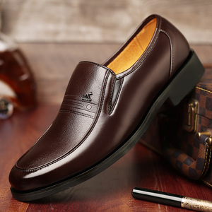 Image 5 - Large Size 46 Black formal shoes men Dress Shoes Genuine Leather shoes men Fashion Business Oxford Shoes for Men shoes leather