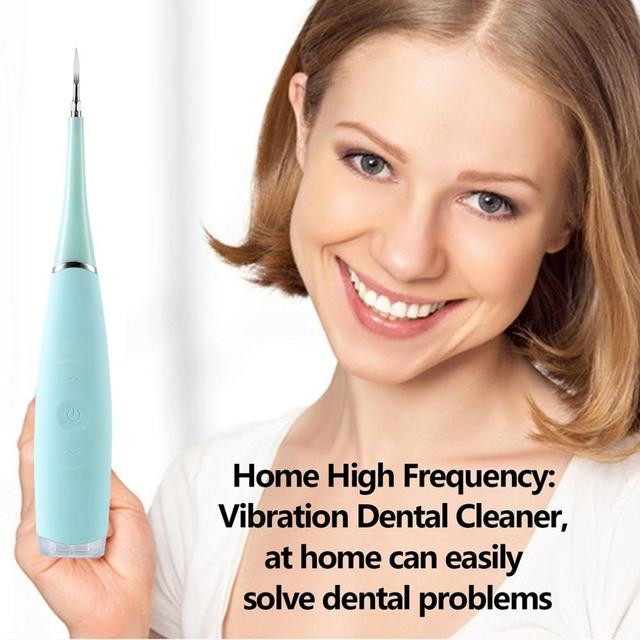 English box pack electric sonic dental scaler tooth calculus remover tooth stains tartar tool dentist teeth whitening toothbrush