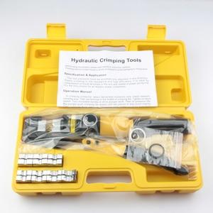 Image 5 - Гидравлический обжимной инструмент, устройство для работы с гидравлическим сжатием, диапазон 4 70 мм, давление 6T