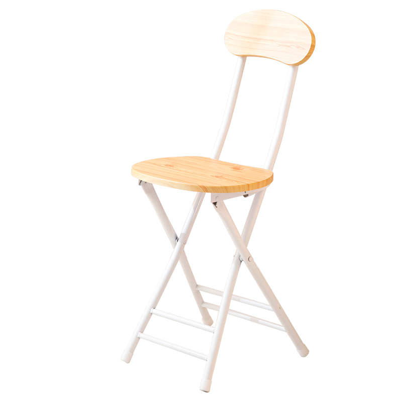 Dining Chair Home Chair Modern Minimalist Folding Table Stool Nordic Style Simple Restaurant Living Room Stool