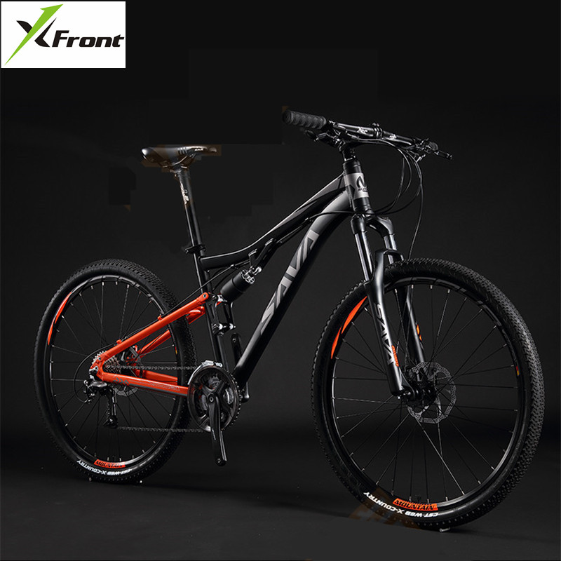X-Front Mountain Bike Aluminum Alloy 27.5 Inch Wheel Soft Tail Bicicleta SHIMAN0 Shift Hydraulic Disc Brake MTB Downhill Bike