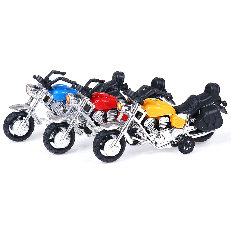 HOT Sale Kids Motorcycle Model Toy Car For Boys Kid Motorbike Plastic Education Toys For Children Best Gift