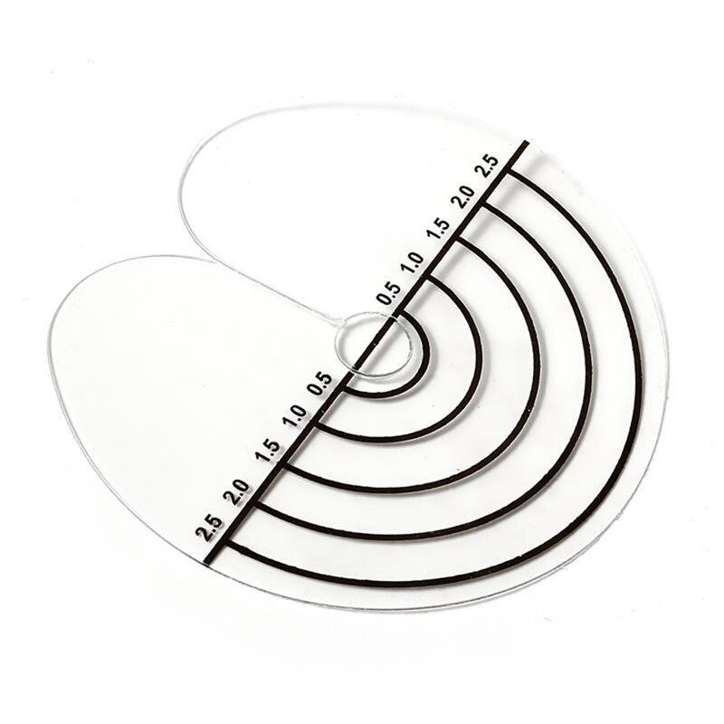 50 шт. круглые защитные щитки для волос, Защитные щитки для тепловых листов, шкала, наконечники для наращивания волос, аксессуары для укладки