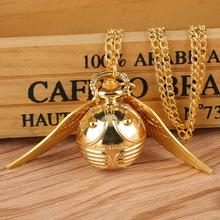 Pocket Watch Chain-Clock Pendant Necklace Ball Sweater Fob Cute Quartz for Boys Girls