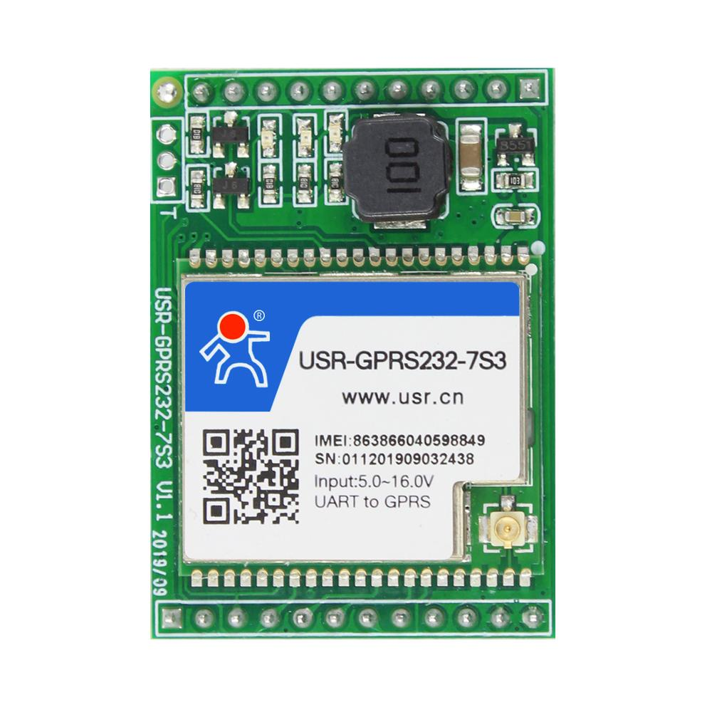 USR-GPRS232-7S3 Serial UART TTL To GPRS/GSM/EDGE Module Httpd Client Supported Highly-Integrated GPRS Module