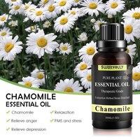 30 мл эфирное масло ромашки чистое натуральное 10 мл чистые эфирные масла Ароматерапия диффузоры масло здоровая кожа волосы свежий воздух