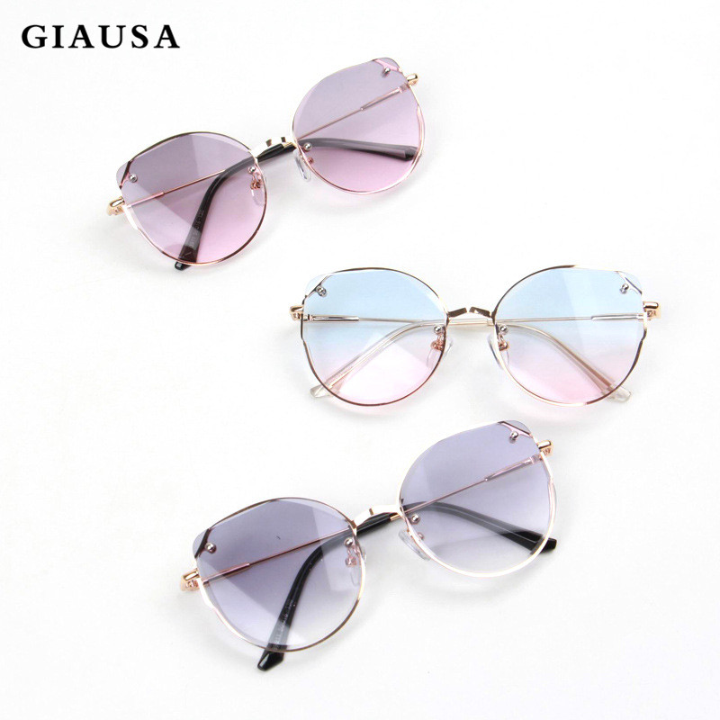 GIAUSA Cute Baby Fashion Brand Kids Sunglasses  Kids Anti-uv Baby Sun-shading Eyeglasses Girl Boy Sunglasses UV400