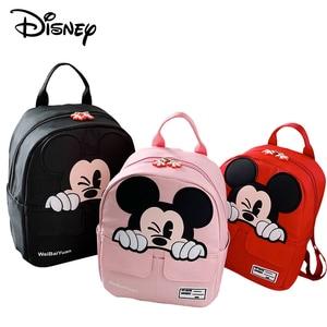 Image 5 - ディズニーミッキーマウス学校家庭教師バッグ中学生バッグキャンバス子供のメッセンジャーショルダーバッグ男の子ハンドバッグ