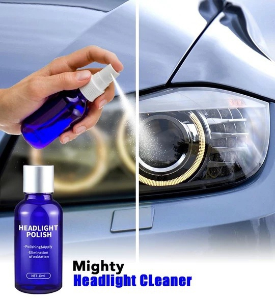 10ML Car Headlight Restoration Repair Coating Solution Repair Kit Headlight Polishing Anti-scratch Liquid Headlamp Glass Restore