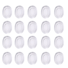 Drum Dampeners 20 Pieces Clear Damper Gel Pads Non-Toxic Soft Tone Control For Your