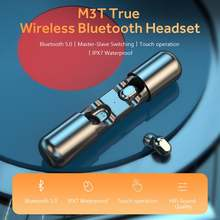 Bluetooth 50 наушники Беспроводные стереонаушники водонепроницаемые