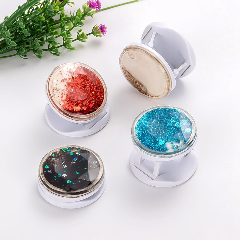 Universal Phone Holder Starry Sky Sands Popular Ring Expanding Stand Finger Bracket Base Finger Top Support Mobile Phone Socket