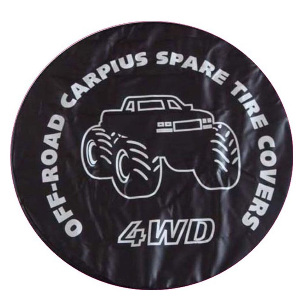For Honda Suzuki Toyota SUVs Car Spare Wheel Tyre Tire Cover Case Bag Protector