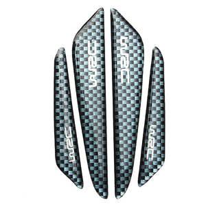 Углеродное волокно Автомобильная дверь защитная полоса для края Защита от царапин для Dacia duster logan sandero stepway lodgy mcv 2|Дискодержатель|   | АлиЭкспресс