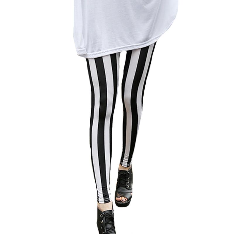 CUHAKCI Grid Fitness Leggings High Waist Pants Stripe Leggings Summer Women Printed Leggins Push Up Female Fitness Trousers