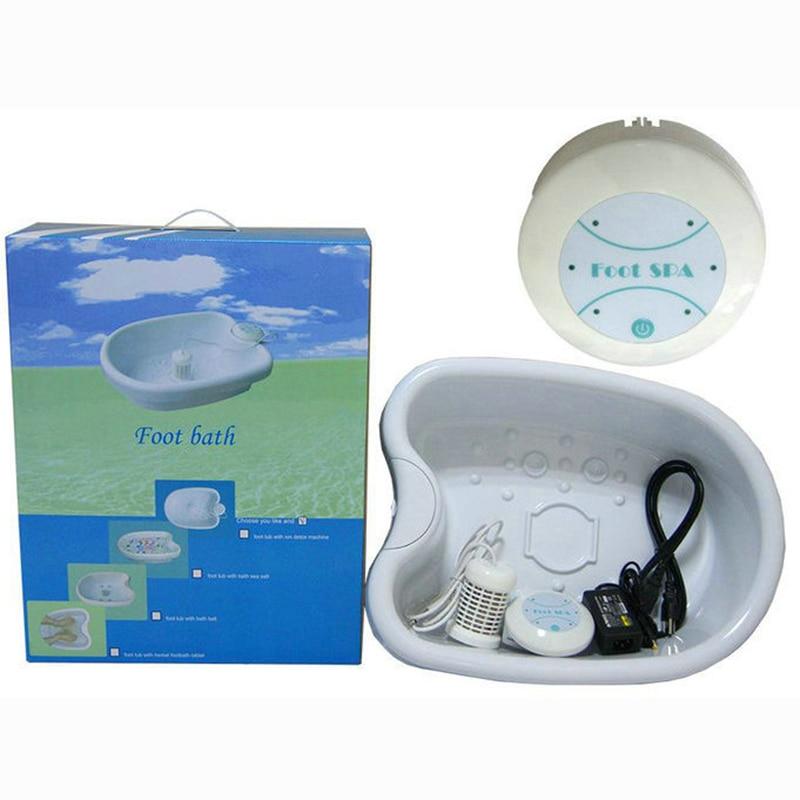 Foot Detox Basin Ion Cleanse Ionic Foot Bath Aqua Cell Spa Machine Arrays Aqua Spa Massager Detox Foot Bath Machine