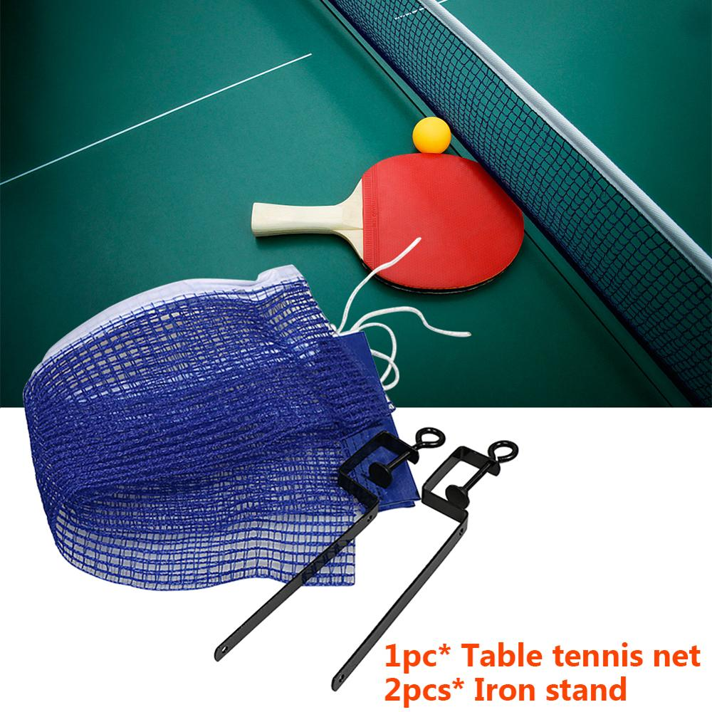 2020 Table Tennis Net Portable Anywhere Retractable Ping Pong Post Net Rack For Any Table AAA
