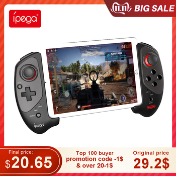 Ipega PG9083 Bluetooth Gamepad Controller Wireless Joystick PUBG Triggers Gamepad Android IOS for TV Box phone Controle pc