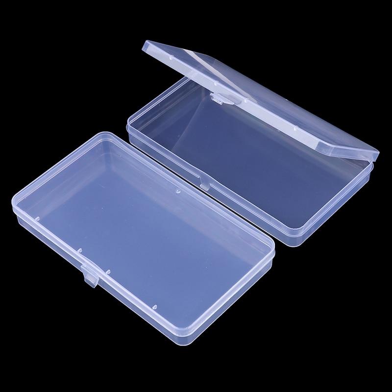 2pcs Portable Dustproof Mask Case Disposable Face Masks Container Disposable Mask Storage Box Storage Organizer