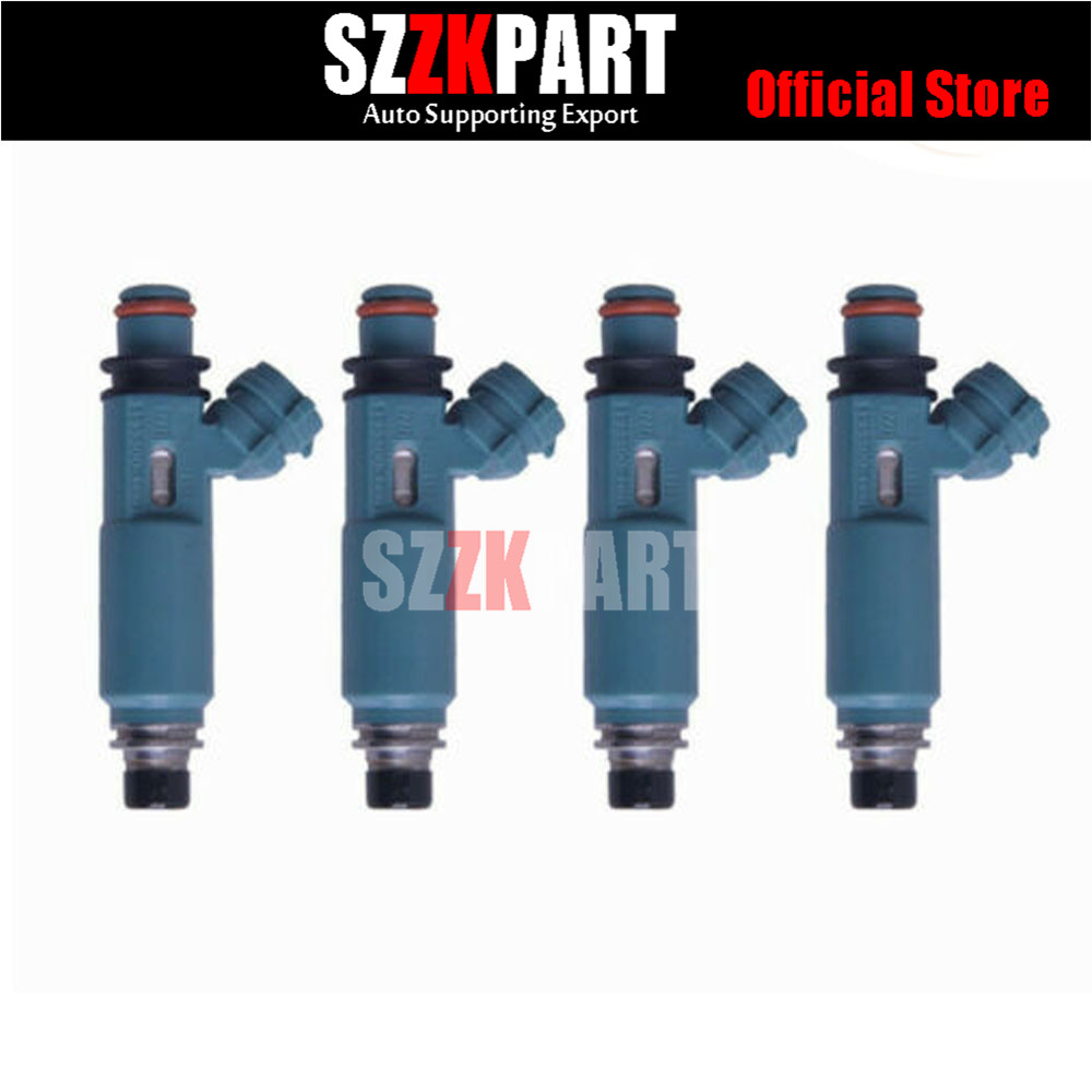 4X Fuel Injector OEM PE01-13-250B For 2012-2013 Mazda 3 2013-2014 CX-5