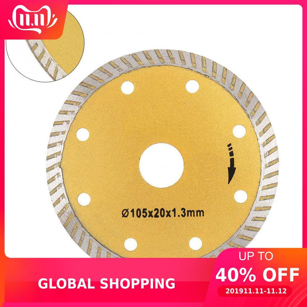 4 Inch Ultra-Thin Corrugated Cutting Tool Diamond Saw Blade Stone Cutting Piece Disc Granite Marble Slice Saw Blade