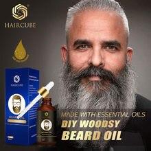 Haircube doğal erkekler sakal uzatma petrol ürünleri saç dökülmesi tedavisi kremi bakımlı hızlı sakal uzatma artırıcı bakım