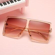 Imwete Vintage Oversized Sunglasses Women Men Classic Brand