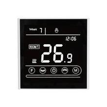 Termostato WiFi MK70 para calefacción de agua y suelo, controlador de temperatura de 95-240V, funciona con Alexa y Google Home