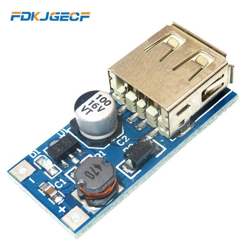 10pcs DC DC 0.9V-5V To 5V 600MA Power Bank Charger Step Up Boost Converter Supply Voltage Module USB Output