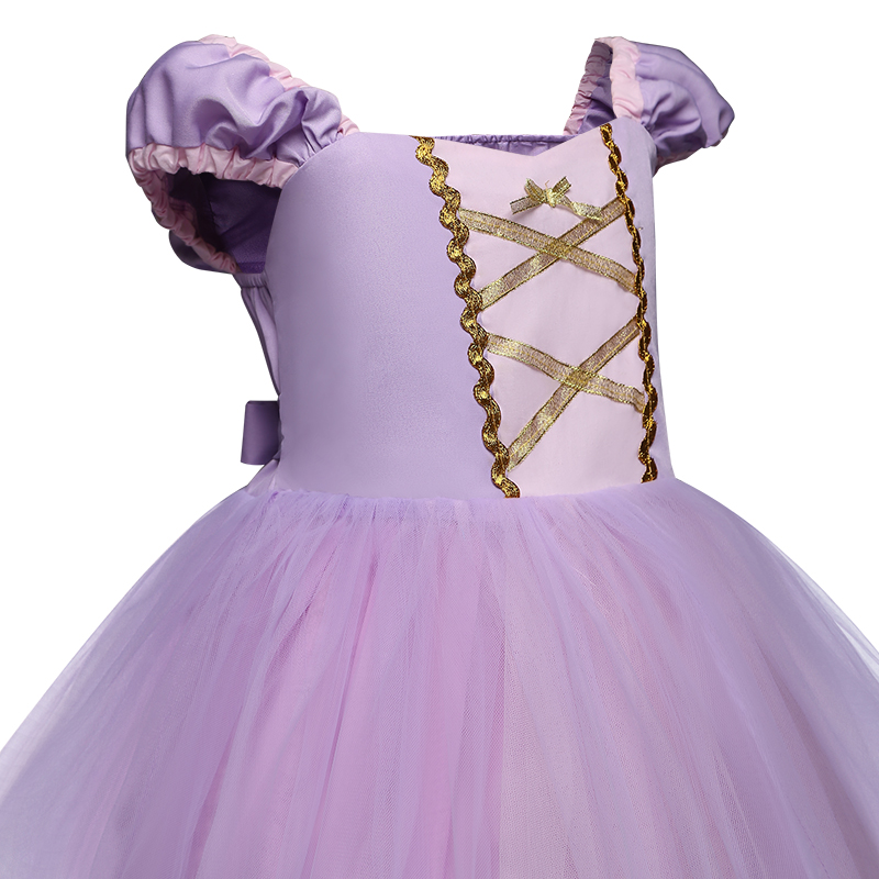 Infant Baby Girls Princess Costume Halloween Cosplay Clothes Toddler Party Role-play Kids Fancy Dresses For Girls